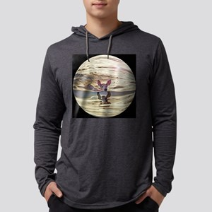 bubbled fawn Mens Hooded Shirt