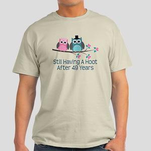 49th Anniversary Owls Light T-Shirt