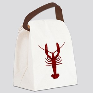 Lobster Canvas Lunch Bag