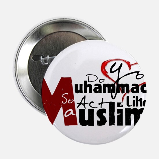 """Do you Love Muhammad 2.25"""" Button"""