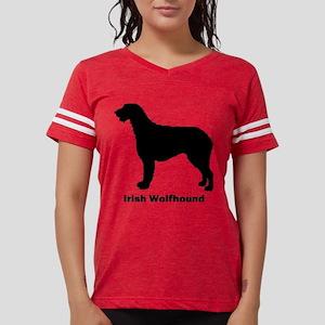 Irish Wolfhound Womens Football Shirt