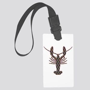 Lobster Large Luggage Tag