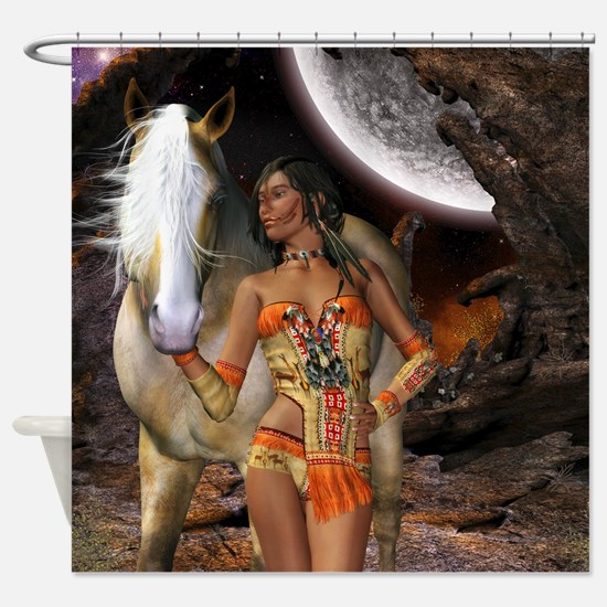 Native Beauty Shower Curtain