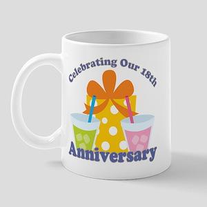 18th Anniversary Party Mug