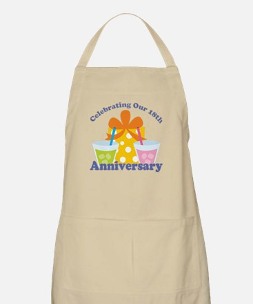 18th Anniversary Party Apron
