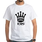 King Symbol White T-Shirt