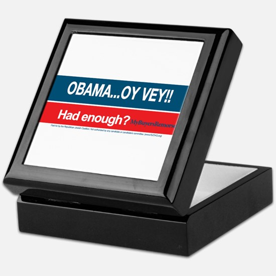 Obama... Oy Vey!! My Buyer's Remorse Keepsake Box