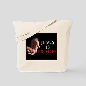 Jesus is Pro-life Tote Bag