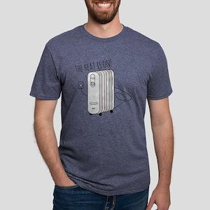 Heat Is On Mens Tri-blend T-Shirt