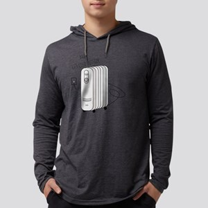 Cold Outside Mens Hooded Shirt