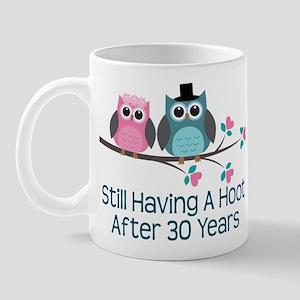 30th Anniversay Owls Mug