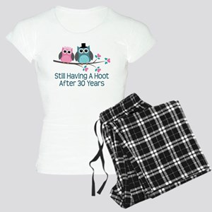 30th Anniversay Owls Women's Light Pajamas