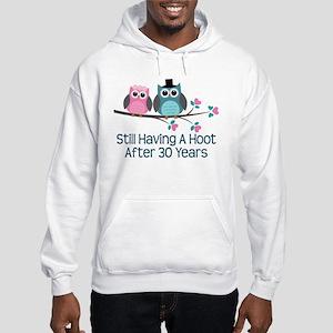 30th Anniversay Owls Hooded Sweatshirt