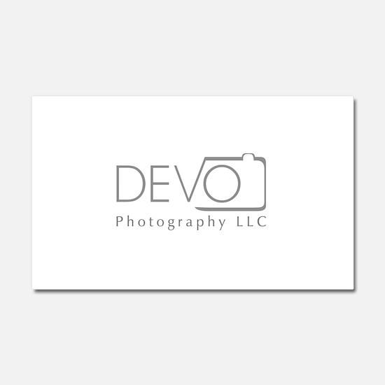 Devo Photography Car Magnet 20 x 12