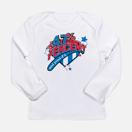 47 percent Long Sleeve Infant T-Shirt