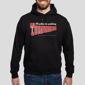 Watching Thunderbirds Hoodie (dark)