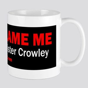 Dont Blame Me, I Voted For Aleister Crowley Mugs