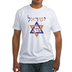 Israel Chai Fitted T-Shirt
