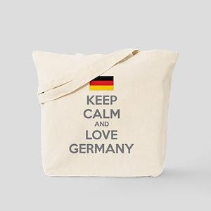 Keep calm and love Germany Tote Bag