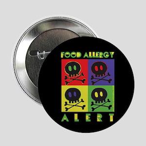 "food allergy alert 2.25"" Button"