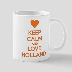 Keep calm and love Holland Mug