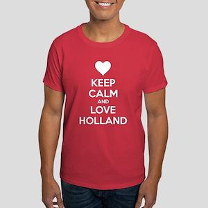 Keep calm and love Holland Dark T-Shirt