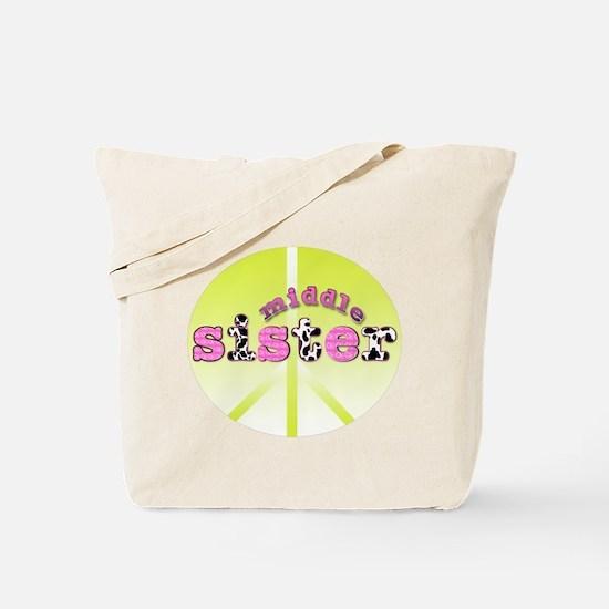 middle sister peace decor Tote Bag