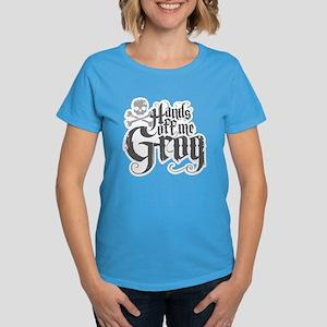 Hands Off Me Grog Women's Dark T-Shirt