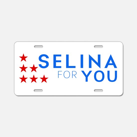 Selina for You Aluminum License Plate