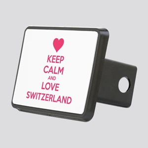 Keep calm and love Switzerland Rectangular Hitch C