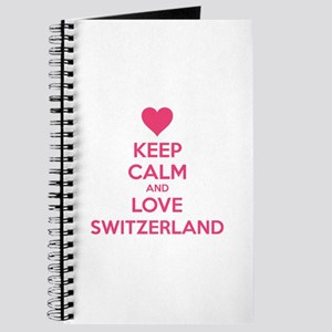 Keep calm and love Switzerland Journal