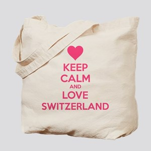 Keep calm and love Switzerland Tote Bag