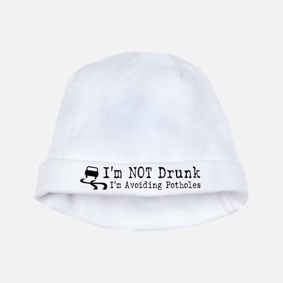 Drunk Potholes baby hat