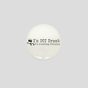 Drunk Potholes Mini Button