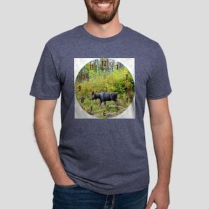 wallclock Mens Tri-blend T-Shirt