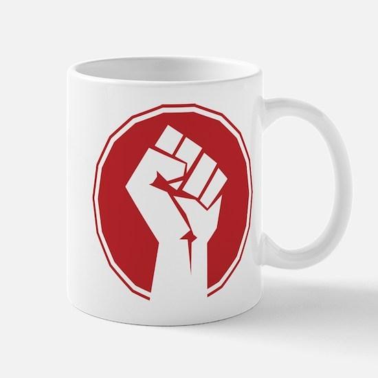Vintage Retro Fist Design Mug