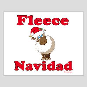 Fleece Navidad Small Poster