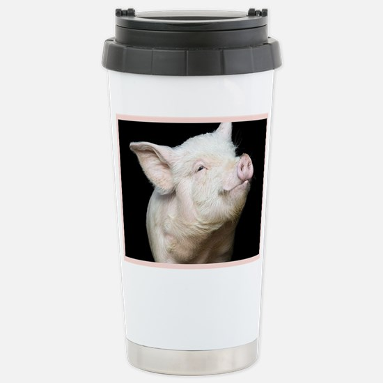 Cutest Pig Stainless Steel Travel Mug