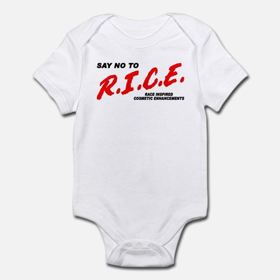 Say No To Rice Infant Bodysuit