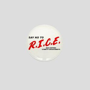 Say No To Rice Mini Button