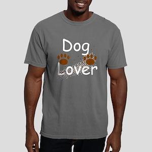 Dog Lover II Mud stipple Mens Comfort Colors Shirt