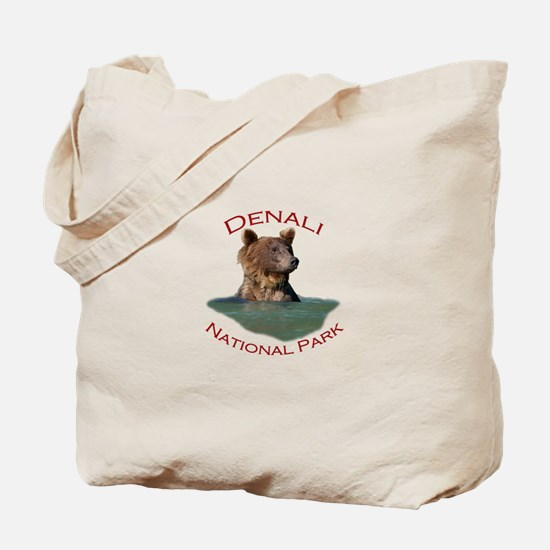 Denali National Park...Grizzly Bear Tote Bag