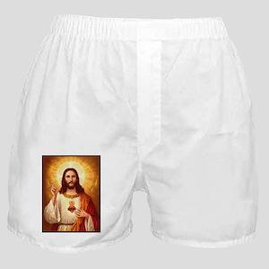 Sacred Heart of Jesus Boxer Shorts