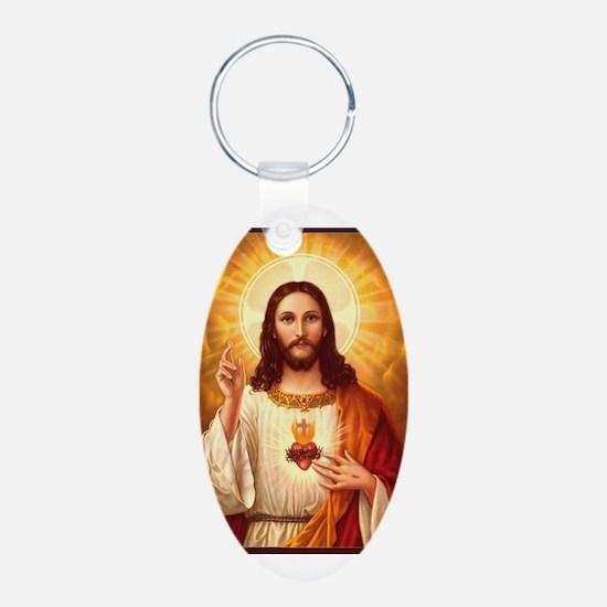 Sacred Heart of Jesus Keychains