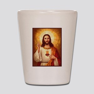 Sacred Heart of Jesus Shot Glass