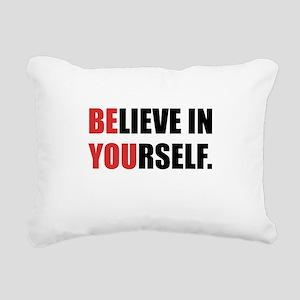 Believe in Yourself Rectangular Canvas Pillow