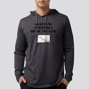 Graphing Mens Hooded Shirt
