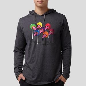 Lollipop Orgy Mens Hooded Shirt