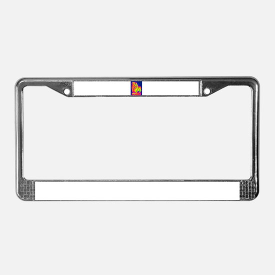 Mule License Plate Frame