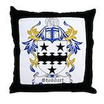 Stoddart Coat of Arms Throw Pillow